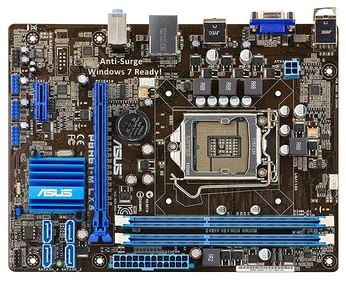Motherboard specification ASUS P8H61-M LX3