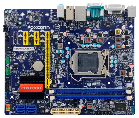 how to find foxconn motherboard model