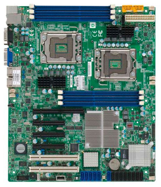 Motherboard specification Supermicro X8DTL-6F