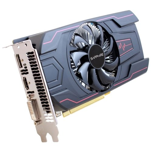 Graphic card specification Sapphire Pulse Radeon RX 560 1216Mhz PCI