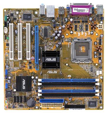 Asus p5gv mx видео перегружает процессор